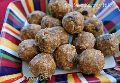 No Bake Energy Bites....no refined sugar and so simple!