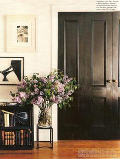 our dream home: interior black doors «