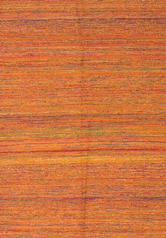 Sari Handmade Orange Area Rug
