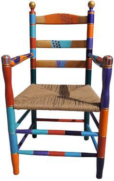 Wicker Ball Chair by Nancy Woods