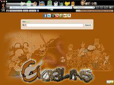 Goblins Comic Browser Themes for Google Chrome, Mozilla Firefox, Internet Explorer and Safari. - Web Comics