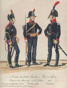 Tromba, cacciatore e capitano dei cacciatori a piedi calabri del regno di Napoli