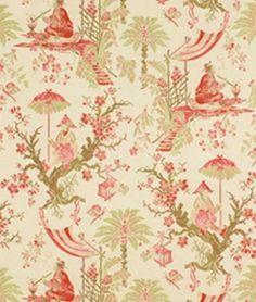 chinoiserie upholstery fabric