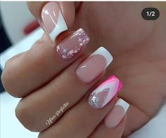 Manicure And Pedicure, Short Nails, Nail Designs, Hair Beauty, Make Up, Nail Art, French, Simple Elegant Nails, Pretty Gel Nails