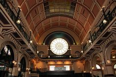 Union Station Grand Hall Indianapolis...miss looking at this everyday