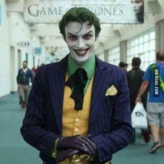 The Joker amazing cosplay.