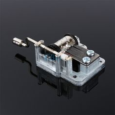 Great gift for movie/´s lovers Hand cranked music mechanism with main theme from the film Gift packaging Collect our music boxes Black Cinema Paradiso music box
