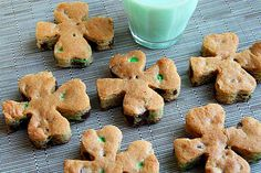 Shamrock Cookies for St. Patrick's Day