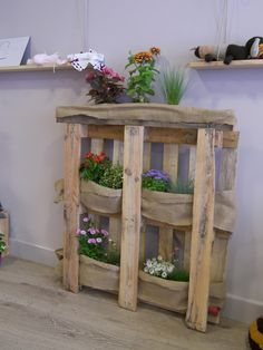 so cute for a patio or deck. Great way to have an herb garden in a small place