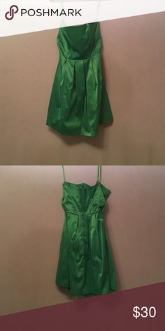 Mint green merona collection strapless dress Strapless dress my sister and I wore for homecoming. Merona Dresses Strapless