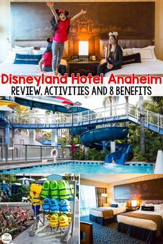 Disneyland Hotel Anaheim Review + 8 voordelen - #anaheim #Disneyland #Hotel #Review #voordelen Disneyland Secrets, Disneyland California, Disney California Adventure, Florida Vacation, Disney Vacations, Disney Trips, Disneyland Hacks, Disneyland Resort Hotel, Hotels