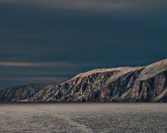 Under the Midnight Sun Suffering In Silence, Arctic Circle, Midnight Sun, Clouds, Sky, Landscape, Water, Outdoor, Travel