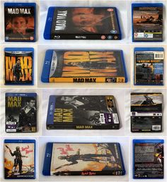 https://flic.kr/p/thEx2H | Various Mad Max Blu-rays | UK Mad Max US Mad Max BD & DVD combo France Mad Max Steelbook US Mad Max special edition
