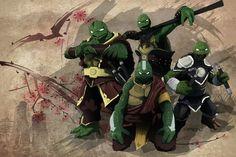 Ninja turtles benders