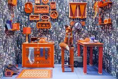 "Image of Hermes ""Fox's Den"" Window Installation by Zim & Zou"