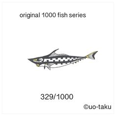 【uo_taku】さんのInstagramをピンしています。 《329/1000  以前に展示風景をご紹介しましたが、1,000枚の無地の名刺に1000種類の形も柄も違うオリジナルの魚を4色(黒、金、銀、紙の白)で描きました。 2015年11月6日より定期ですが、1日1匹を目安にご紹介していきます。どうぞお楽しみに。  i introduce the exhibition landscape previously.I drew a 1000 fish.Form also pattern and shape is  different all.all of design by original.so i used only 4colors(black.white.gold.silver) size is business card size(9cm×5cm) i will introduce one fish per day. please enjoy it. 2015.November6 start…
