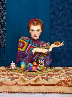 Vibrant Photos Pay Homage to Slavic Folklore through High-Fashion Portraits - My Modern Met