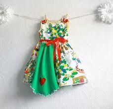 Image result for upcycled girls dresses