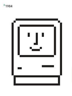 Since*: Los iconos de Macintosh | NiceFuckingGraphics!