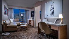 Palms Casino Resort — Bluebird Lighting Las Vegas Resorts, Ambassador Hotel, Palms, Blue Bird, Corner Desk, Conference Room, Lighting, Table, Furniture
