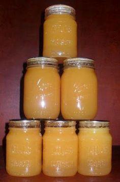 Canning Homemade!: Mango Peach Lemonade Concentrate - Great Job Brandi