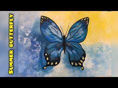 Acrylic painting - YouTube Acrylic Painting For Beginners, Painting Videos, Acrilic Paintings, Butterfly, Youtube, Art, Ideas, Art Background, Kunst