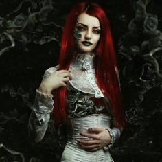 gothic redhaired