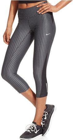 Nike Printed Cropped Dri-FIT Leggings
