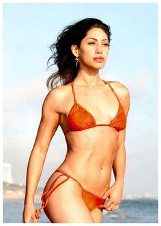 Lisacatara modeling photography bikini sexy strong happiness