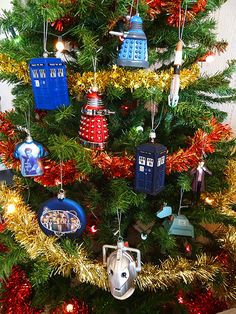 714e7505d81 This year the BBC Shop has added some new Doctor Who Christmas Decorations  alongside some old favourites. Much bigger than you might expect these make  a ...