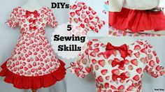 DIYs: 5 Sewing Skills:Sew Puffy Short Sleeves,more by YumiKing