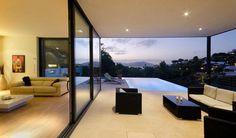 contemporary residence in Mallorca 50 Unique Homes Boasting Awe Inspiring Panoramas