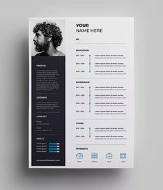 If you like this cv template. Check others on my CV template board :) Thanks for sharing! Web Design, Graphic Design Resume, Interior Design Resume, Resume Design Template, Creative Resume Templates, Design Templates, Creative Resume Design, Cv Design Template Free, Best Cv Template