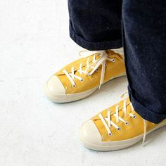 ■Brand ; SHOES LIKE POTTERY ■Item name ; GW SHOES LIKE POTTERY #mustard/natural dye ■Product Details ; 古くからゴム産