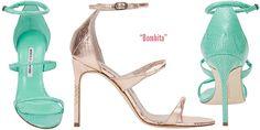Manolo Blahnik Bombita Strappy Snakeskin Sandal - Buy Online - Designer Sandals