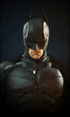 "Nice detail.  I dig the ""muted"" black finish on the body suit. ""Christian Bale's Batman"" by TovMauzer"