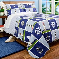 Lighthouse Quilt Set