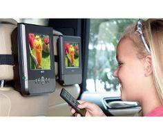 """Rank Arena 17.75cm (7"""") Dual Screen Portable DVD Player"""