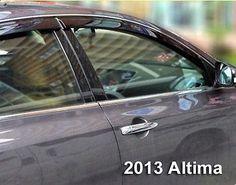 97.67$  Watch now - http://alitow.worldwells.pw/go.php?t=32777325261 - FIT FOR 2013-14 NISSAN ALTIMA RAIN WINDOW DOOR GUARD VISOR WIND SHIELD DEFLECTOR LF