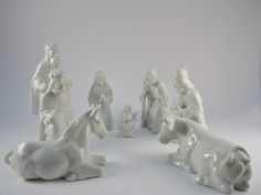 Fitz and Floyd Nativity Holy Family Animals Wise by MSMUnlimited