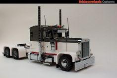 Peterbilt 359 Classic in 1:13: A LEGO® creation by Bricksonwheels MOC : MOCpages.com