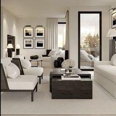 Living Room Interior, Home Living Room, Apartment Living, Living Room Designs, Living Room Decor, Dream Home Design, Home Interior Design, House Design, Living Room Inspiration