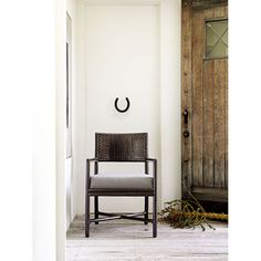 McGuire Furniture: Alameda Dining Arm Chair: M-331