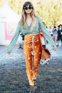 Mimi at Splendour In The Grass 2015 festival fashion highlights. Day 2.