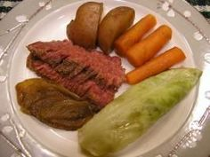 Corned Beef and Cabbage in Guinness. Photo by Diane B.