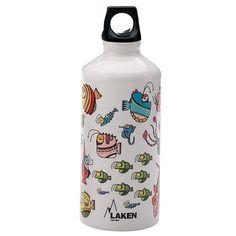 Bình đựng nước LAKEN Mr. Onuff Aluminium Futura 600ml - Màu: Fish $ 340.000 VNĐ
