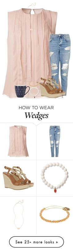 """""""Random Outfit Challenge"""" by stripedprep on Polyvore featuring Jason Wu, MICHAEL Michael Kors, Love Is, Alex and Ani, Kate Spade and Kendra Scott"""