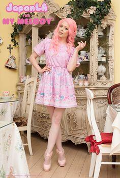 JapanLA x My Melody Dress Me Up! Tea Party Dress! www.japanla.com