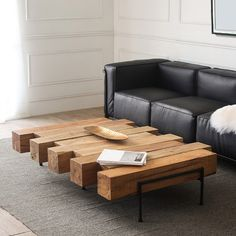 Search results for: 'industrial rustic 42 52 solid wood coffee table geometric metal base natural coffee table'