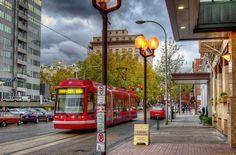 Tri-Met Trolley, Portland, Oregon.